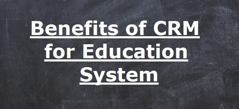 crm for education system