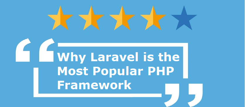 laravel most popular web development framework