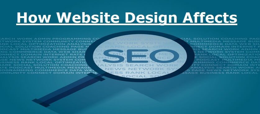 how website design affects seo