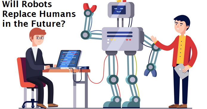 robots replace humans